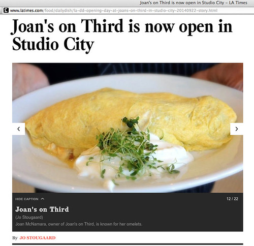 Joan's On Third, L.A. Times