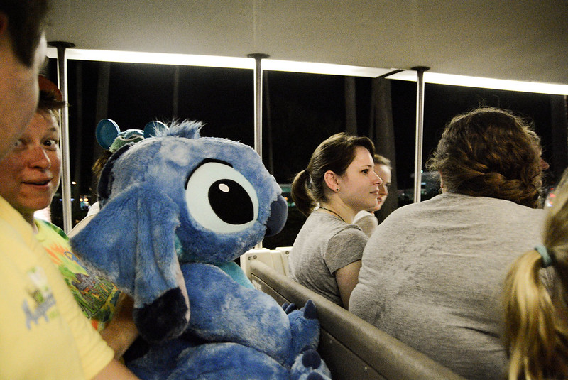 Stitch Goes Home