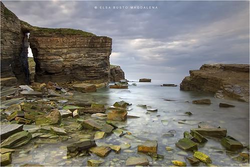 naturaleza marina atardecer mar playa paisaje galicia lugo piedras ribadeo asillas arochela pitusa2 elsabustomagdalena