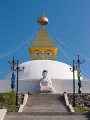 Stupa, Amarbayasgalant Monastery