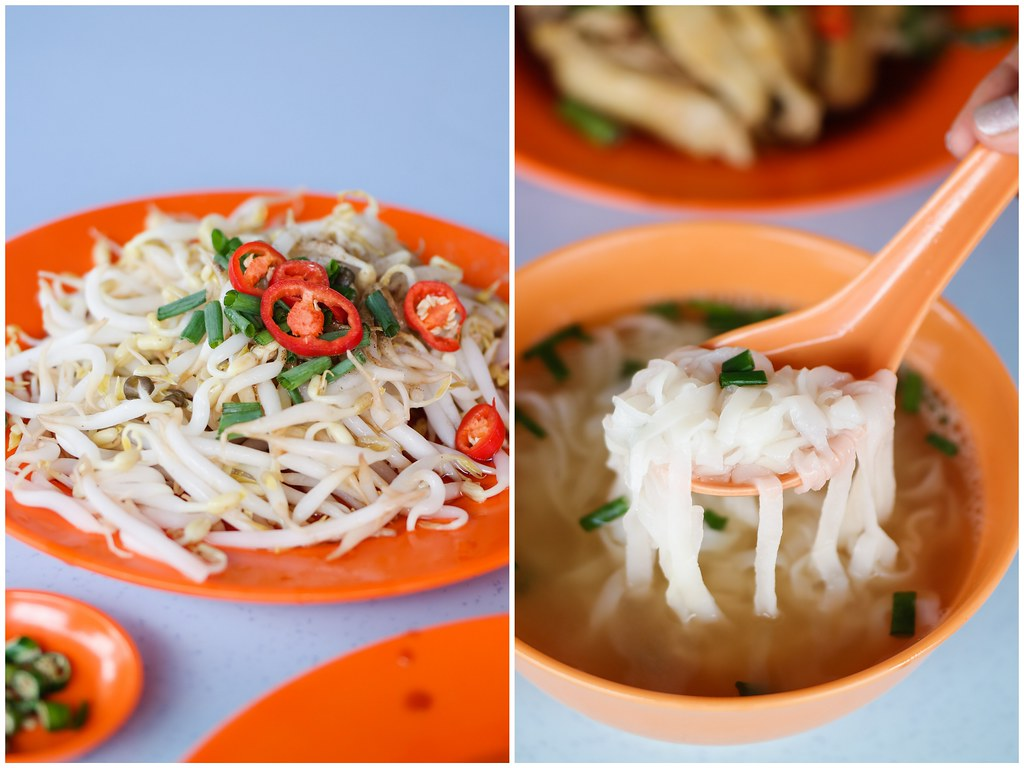 Ipoh Food Guide: Lou Wong Bean Sprout and Noodle