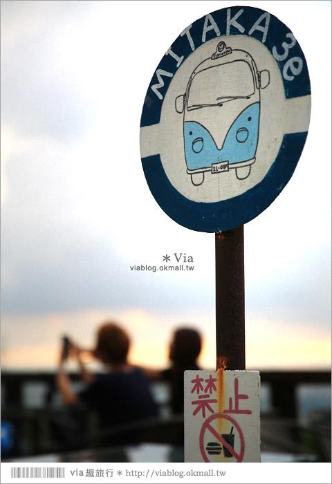 【台中夜景餐廳推薦】台中龍貓夜景~MITAKA 3e Cafe◎大推薦的台中約會地點♥ 10