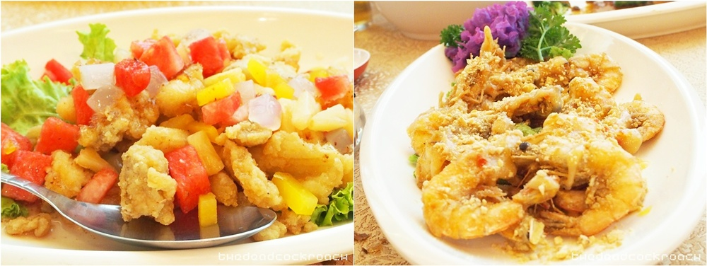 jalan tun sri lanang,restaurant l.t.p, malacca, malaysia, travels,  马六甲,fried fish fillet with watermlon and pineapple