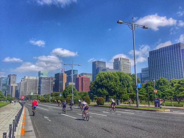パレスサイクリングコース