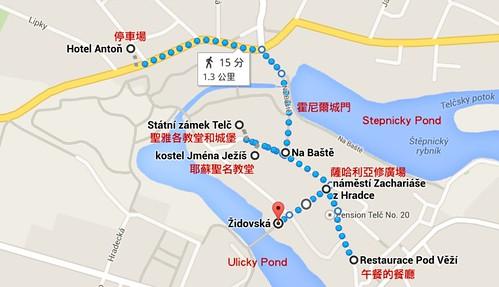 Telc Map