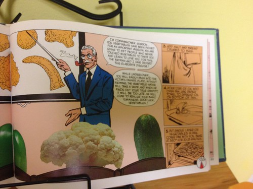 Jim Gordon talks to vegetables