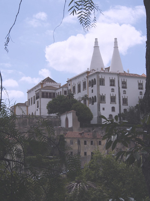 palace, Sintra, travel, Portugal