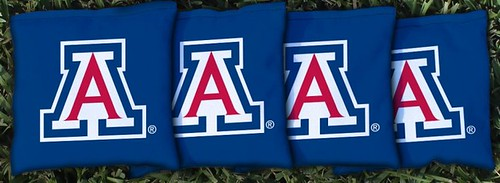ARIZONA WILDCATS BLUE CORNHOLE BAGS