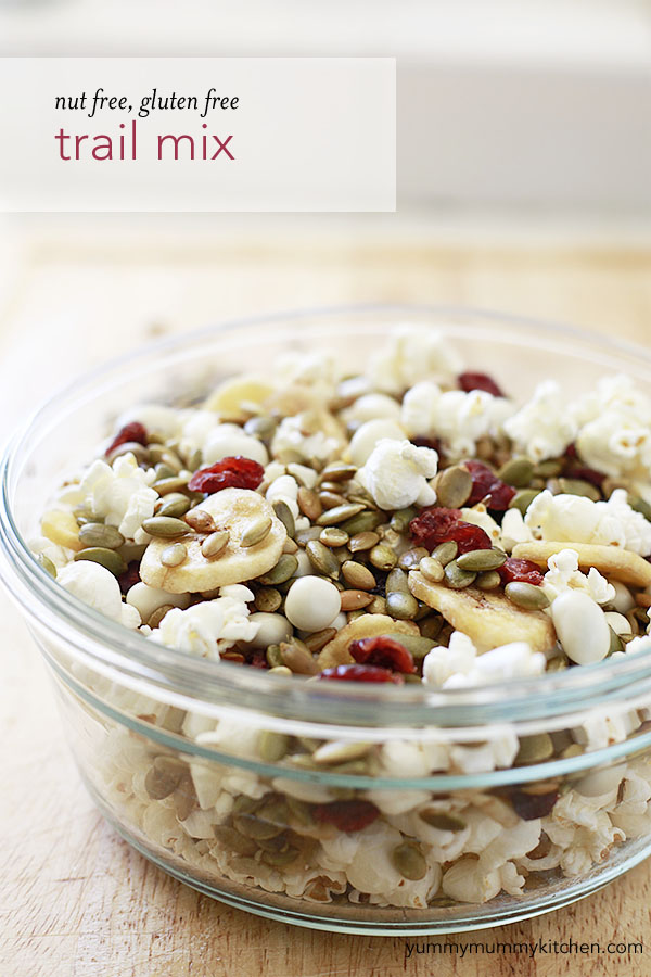Nut free, gluten free trail mix.