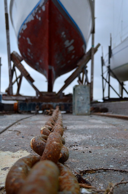 Yacht & chain | Devonport