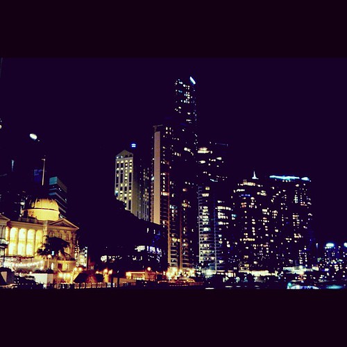 Bright city lights for all to see. #BrisbaneAnyDay