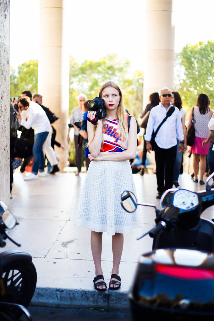 Street Style - Marie Myrhøj Jensen, Paris Fashion Week