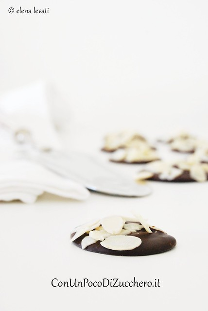 Chocolate & Almond Disks 2