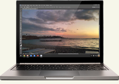 Photoshop a Chromebook Pixel-en