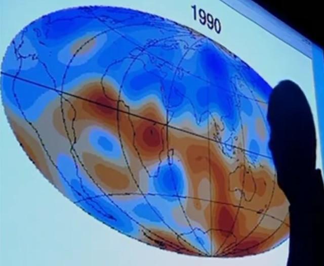 Anomalies magnétiques en 1990