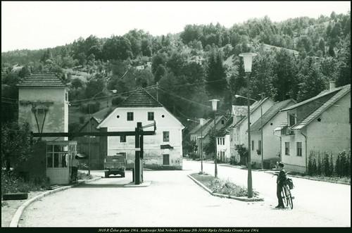 year croatia r mali 1964 hrvatska rijeka 51000 20b 3018 godine neboder čabar antikvarijat ciottina