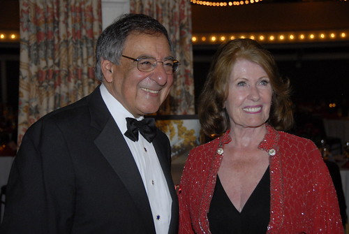 Leon Panetta and Joyce Anderson