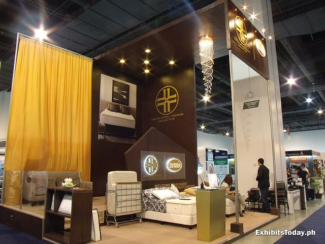 Uratex Hotel Premium Exhibit Booth
