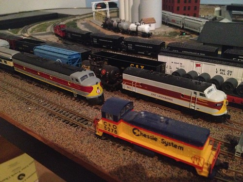 The CH&FR museum has picked up an Erie Lackawanna EMD E8 to add to its collection