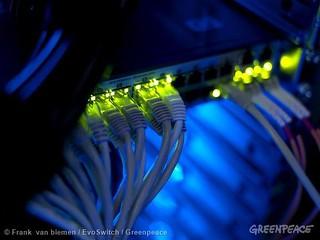 ICT用電節節高升,你的網路夠綠嗎?(圖片來源:台灣綠色和平組織)