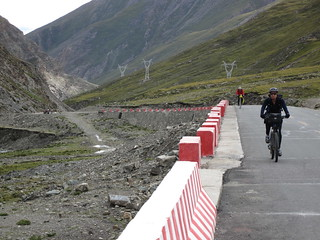 Lhakpa La Pass, Kirsten & Andy