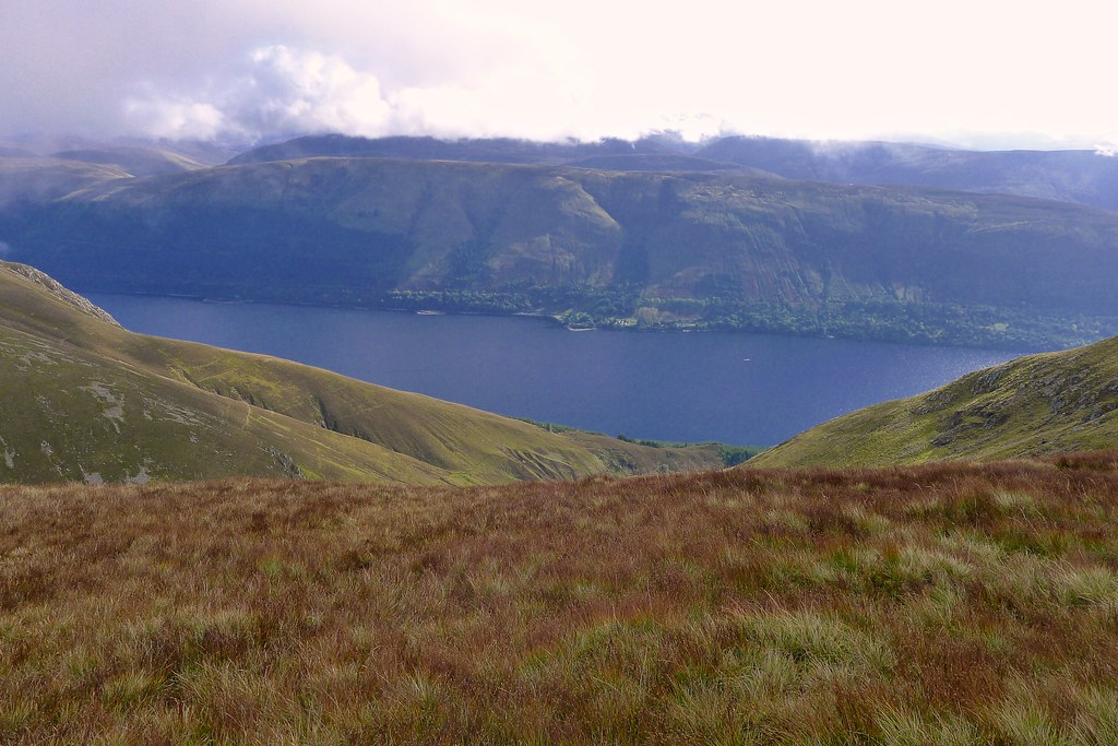 Loch Lochy from Meall na Teanga
