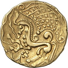 6r PARISII. Gold stater, 2nd cent. B. C. DT 79.