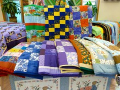 quilt, textile, patchwork, linens, quilting, bed sheet,