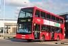 Metroline Scania SEL 748 (LK07 BBJ), Hatton Cross 03/10/2014