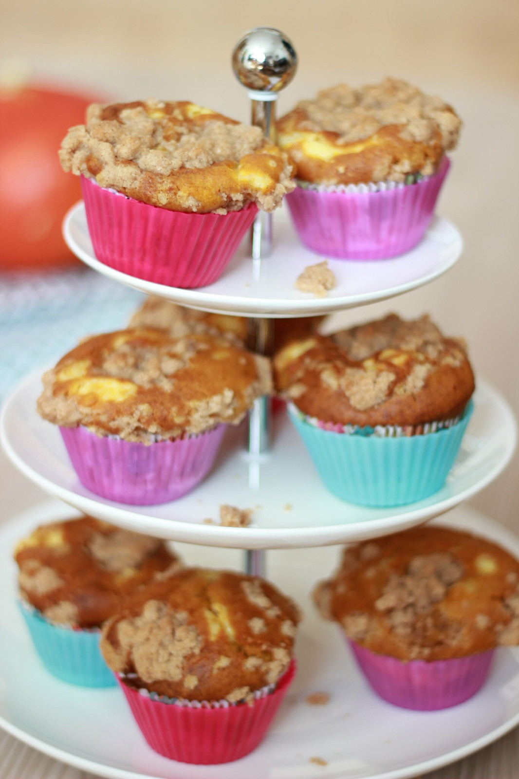 Pumpkin Cheesecake Muffins 08