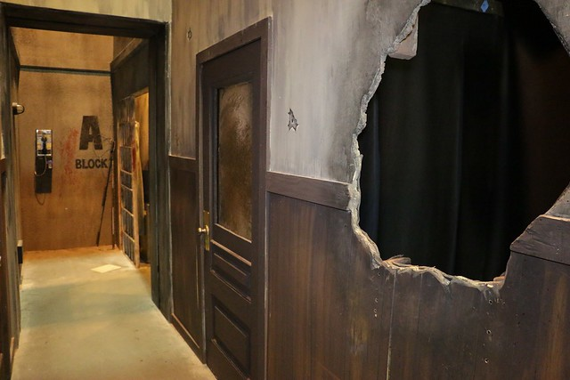 The Walking Dead Haunted House At Halloween Horror Nights