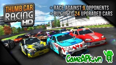 Thumb Car Racing v1.2.3 hack full tiền cho Android