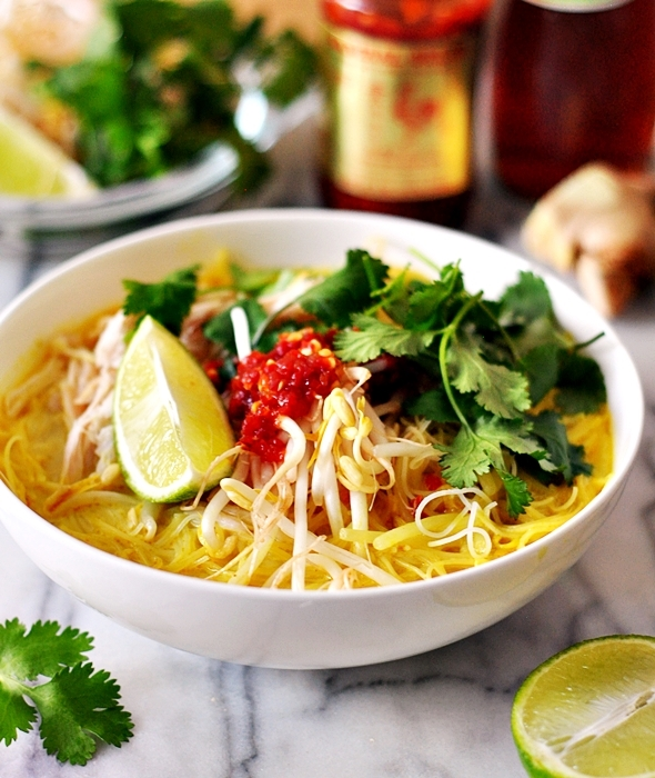 how to cook thai noodle soup
