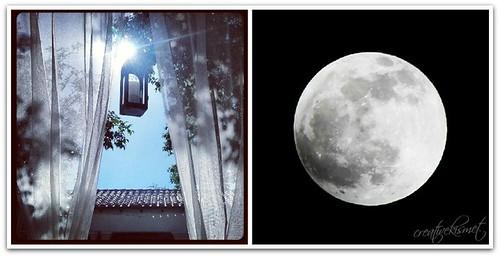 sun and moon instagram
