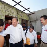 En Ejido San José y Congregación Los Rodríguez de San Vicente. Mpio. Guerrero, Coahuila  13 Agosto 2014