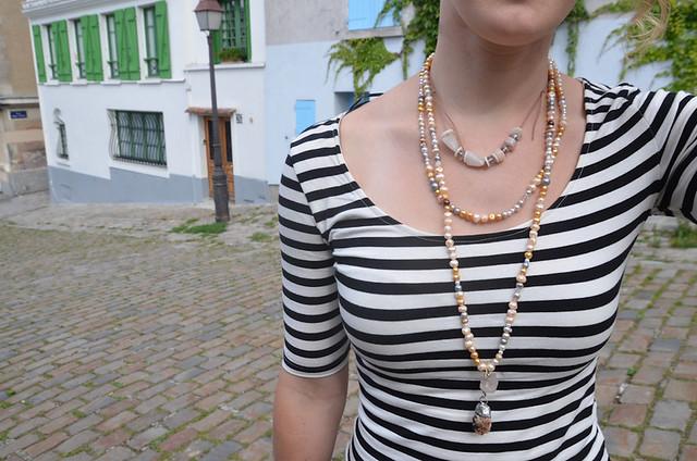 How to Make a Rock Into a Pendant: Paris Rock Necklace