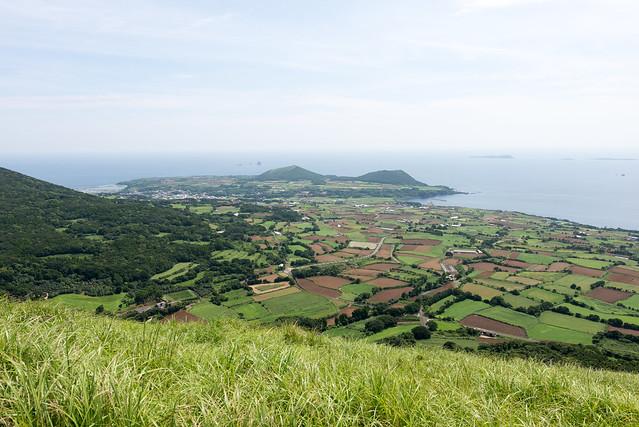 鬼岳からの景色