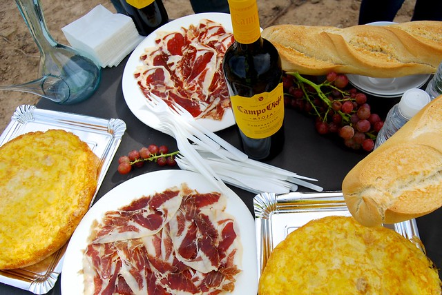 Second Breakfast in Campo Viejo's Vineyard