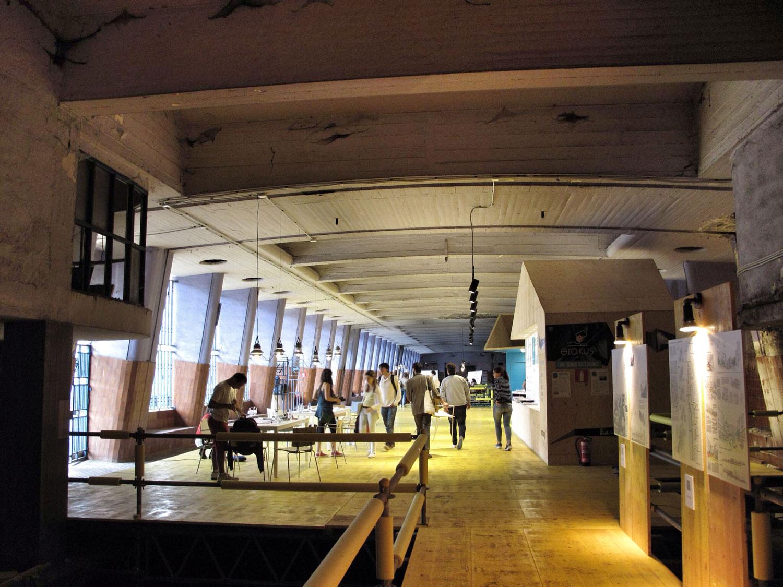 estacion la naja tren bilbao_BIA space_regeneracion_exposicion arquitectura joven_concurso