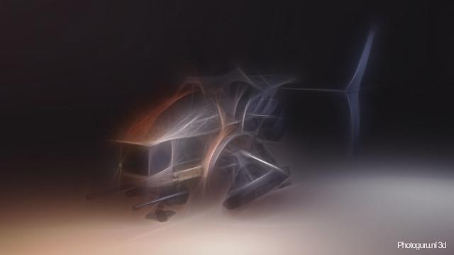 3d drone concept art kleur