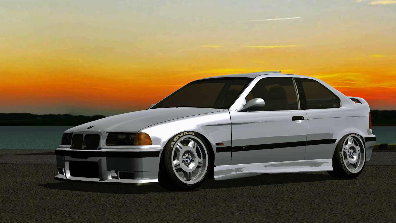 virtual stance works bmw e36 compact megapack. Black Bedroom Furniture Sets. Home Design Ideas