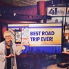 Just finished talking as fast as I can on KC Live. about road trippin around KC #kclive