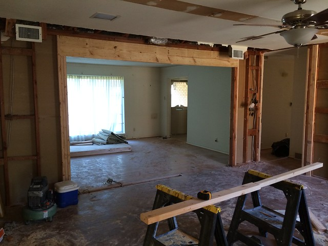 demo, framing & plumbing