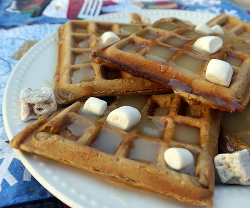 Waffle Wednesday - 'Christmas in September' Gingerbread Waffles (0017)