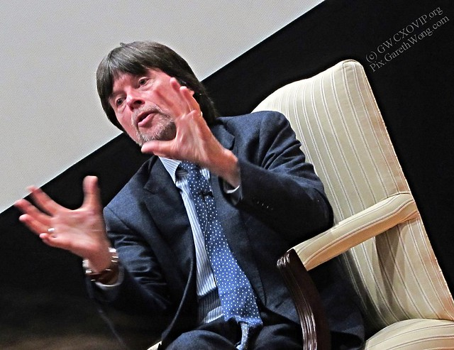 Ken Burns @KenBurns describing  #RooseveltsPBS as