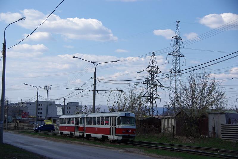 Samara tram Tatra T3SU