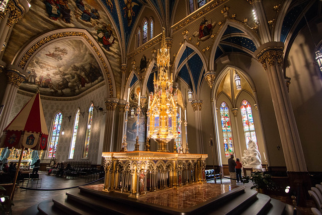 Basilica of the Sacred Heart, Notre Dame, IN