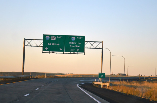 US 395 @ I-90