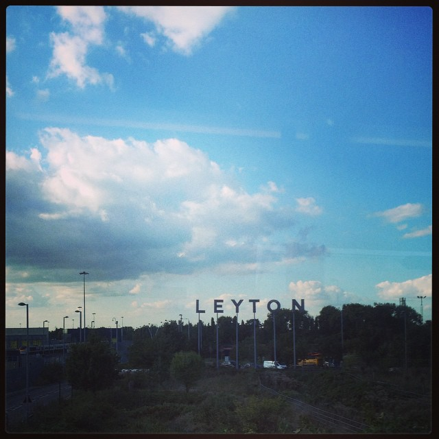 Welcome to Leyton #london #leyton #home #sky