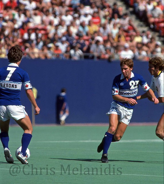 Whitecaps and Cosmos 1979 Alan Ball and Buzz Parsons
